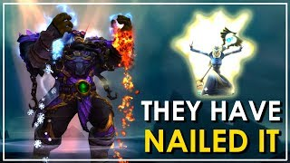 Patch 73 Caster Overhaul New Animations Effects  Sounds Priest Druid Mage Shaman