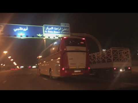 Fujairah to Abu Dhabi [ Time Lapse HD]