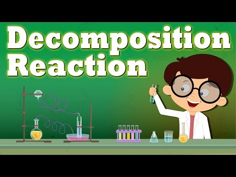 Decomposition Reaction | #aumsum #kids #science #education #children