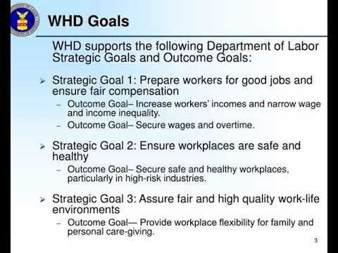 stakeholder consultation wage and hour division department of labor dol draft strategic plan