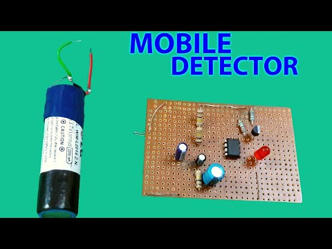 Mobile detector circuit... (science project)