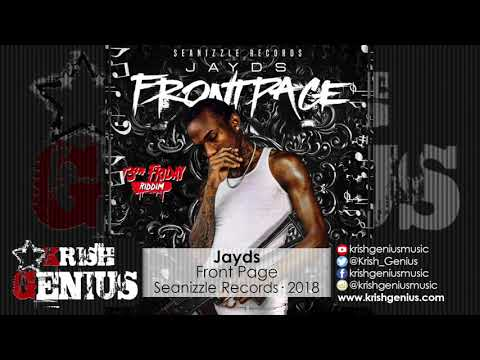 Jayds - Front Page [Friday 13th Riddim] June 2018