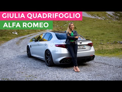 Alfa Romeo - GIULIA QUADRIFOGLIO - Forget The Well Behaved Germans