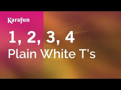 Karaoke 1, 2, 3, 4 - Plain White T's *