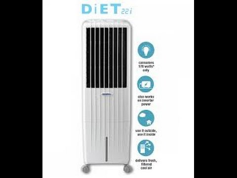 Symphony Diet 22i 22-Litre Air Cooler with Remote (White) ACTUAL REVIEW