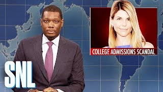 Weekend Update: Lori Loughlin's College Admissions Scandal - SNL