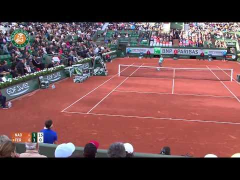 Roland Garros 2014 Wednesday Highlights Nadal Ferrer
