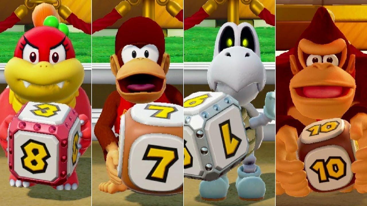 Super Mario Party - Unlocking All Secret Characters