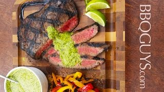 How to Grill Brazilian Steak with Chimichurri : Recipe on a DCS Gas Grill