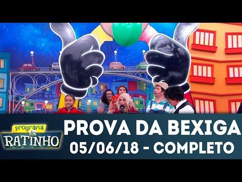 Prova Da Bexiga - Completo | Programa Do Ratinho (05/06/2018)