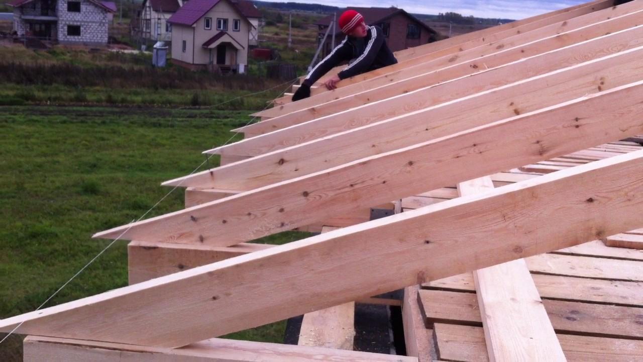 Как сделать четырехскатную крышу фото 174