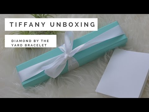 Tiffany & Co Unboxing: Diamond by the Yard  Bracelet | The Bargain District