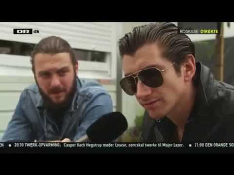 Arctic Monkeys - Roskilde Festival Interview (2014)