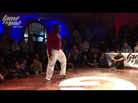 GROOVE'N'MOVE BATTLE 2015 - Popping round of sixteen / Lemzo vs Chris