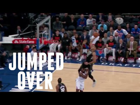 """NBA """"Jumping Over Opponent"""" Moments"""