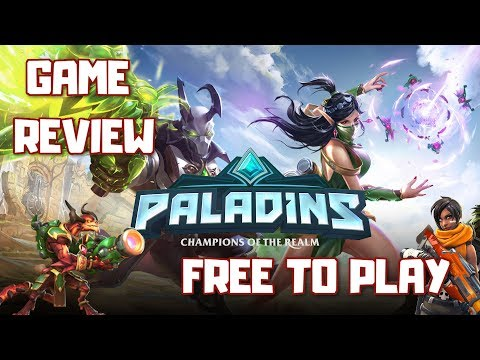 Game Review: Paladins - Free To Play