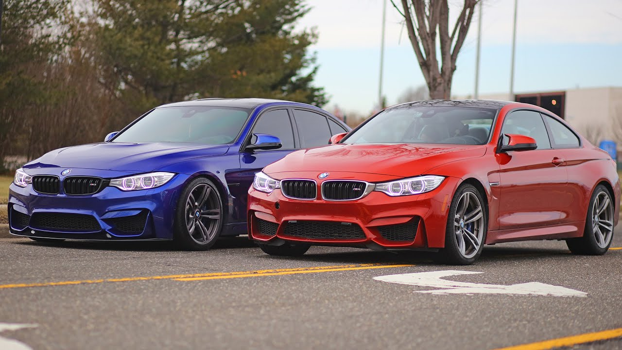 Bmw Of Murray >> Coding the BMW M3 / M4 and the San Marino Blue M3 - YouTube