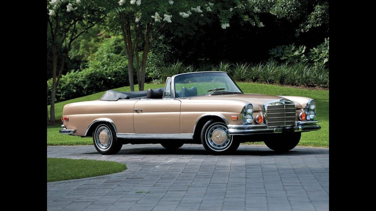 1971 mercedes benz 280se 3 5 cabriolet youtube. Black Bedroom Furniture Sets. Home Design Ideas
