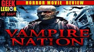 VAMPIRE NATION aka TRUE BLOODTHIRST ( 2012 Andrew Lee Potts ) Horror Movie Review