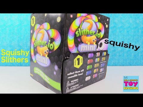 Slitherio Slither Minis Series 1 Mystery Squishy Toy Review | PSToyReviews