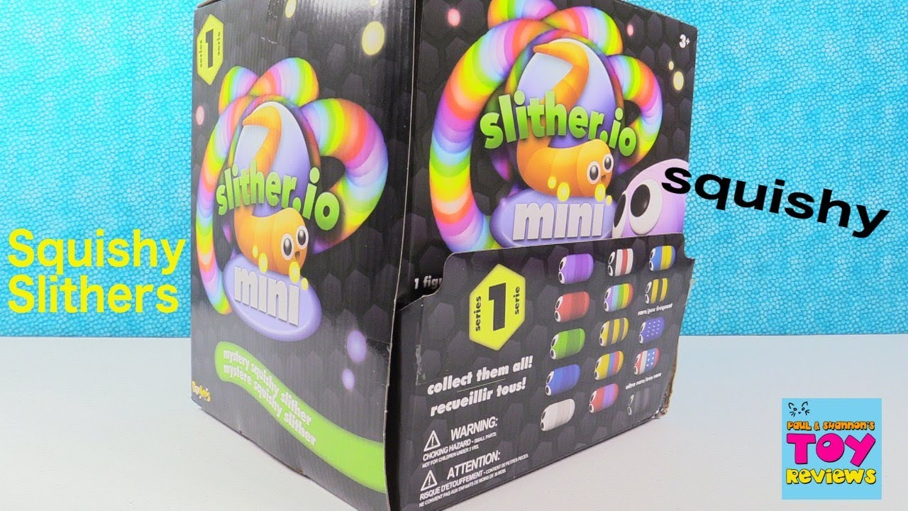 Ryan Toy Video Toys Slitherio Slither Minis Series 1 Mystery Squishy Toy