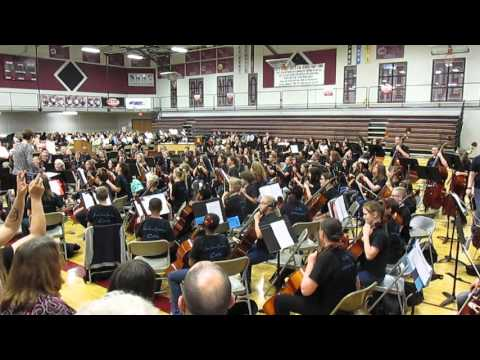 MLE Orchestra Performance at Festival of Strings 4/19/16