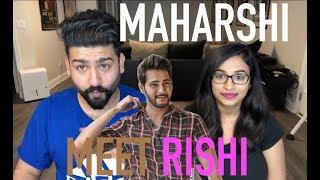 Maharshi Teaser Reaction | Meet Rishi | Mahesh Babu |