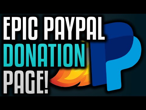 How To Make A Donation Page With PayPal!