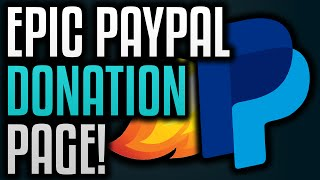 How To Make A Donation Page With PayPal! thumbnail