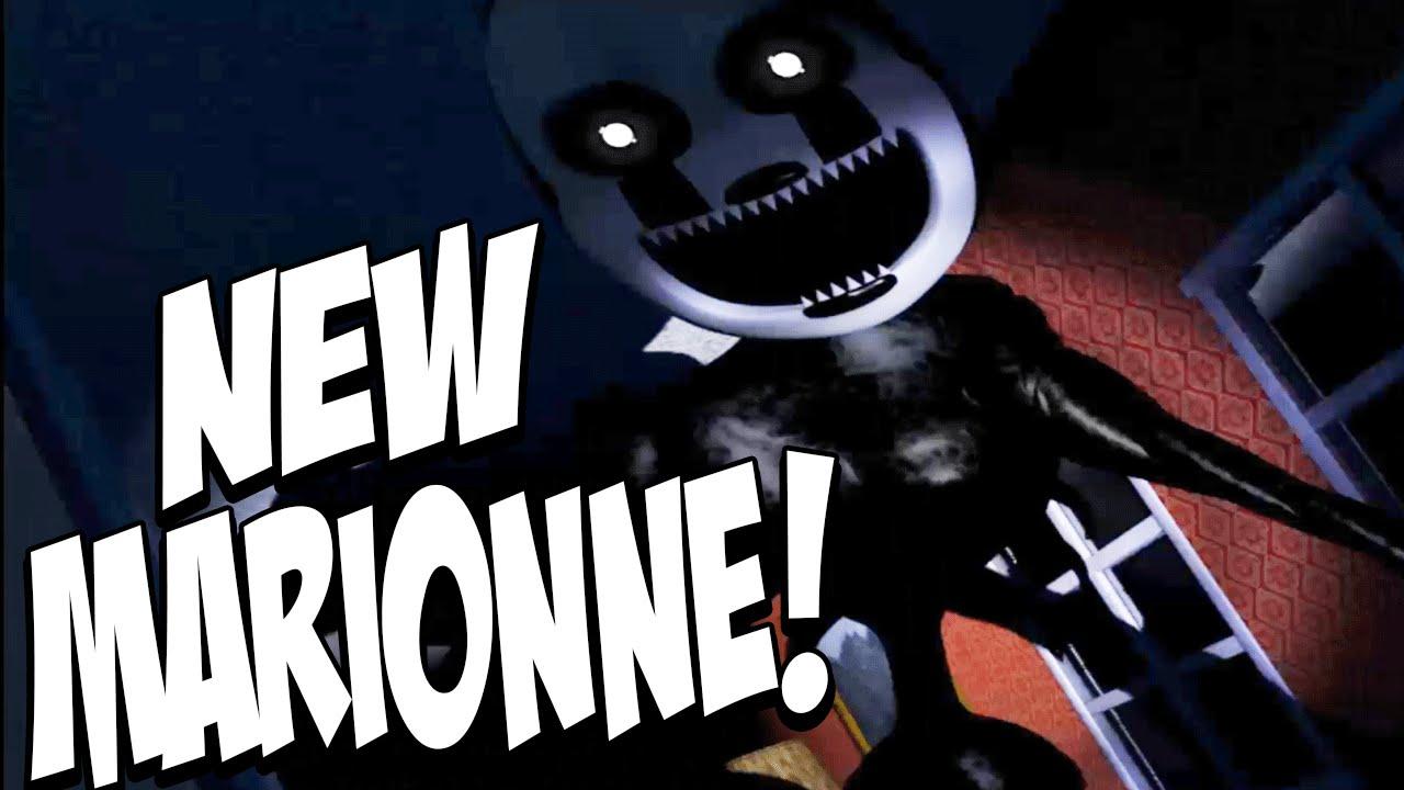 Five Nights at Freddys 4 Halloween Edition: NIGHTMARIONNE ...