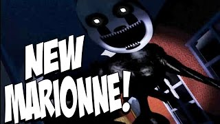 Five Nights at Freddys 4 Halloween Edition: NIGHTMARIONNE JUMPSCARE! EXTREMELY CREEPY! NIGHT 7!