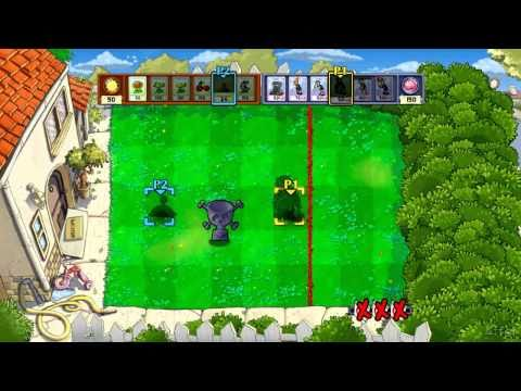 Plants vs Zombies Xbox 360 Vs Mode