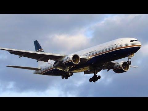 RARE! Privilege Style Boeing 777-200 [EC-MIA] CLOSE UP Landing at Berlin Tegel Airport [Full HD]