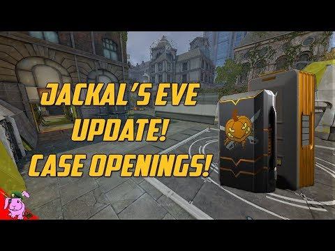 DB   Jackal's Eve Update! EVENT CASE OPENINGS! (100 Equipment + 5 Event Cases)