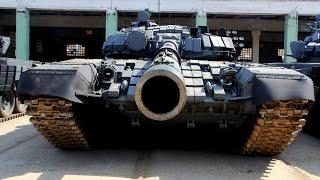 Пристрелка пушек. «Танковый биатлон-2014»