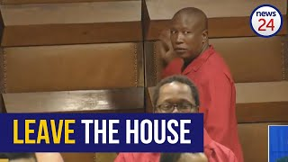 WATCH FULL | Chaos in Parliament: Malema gets kicked out after refusing to withdraw remarks on abuse