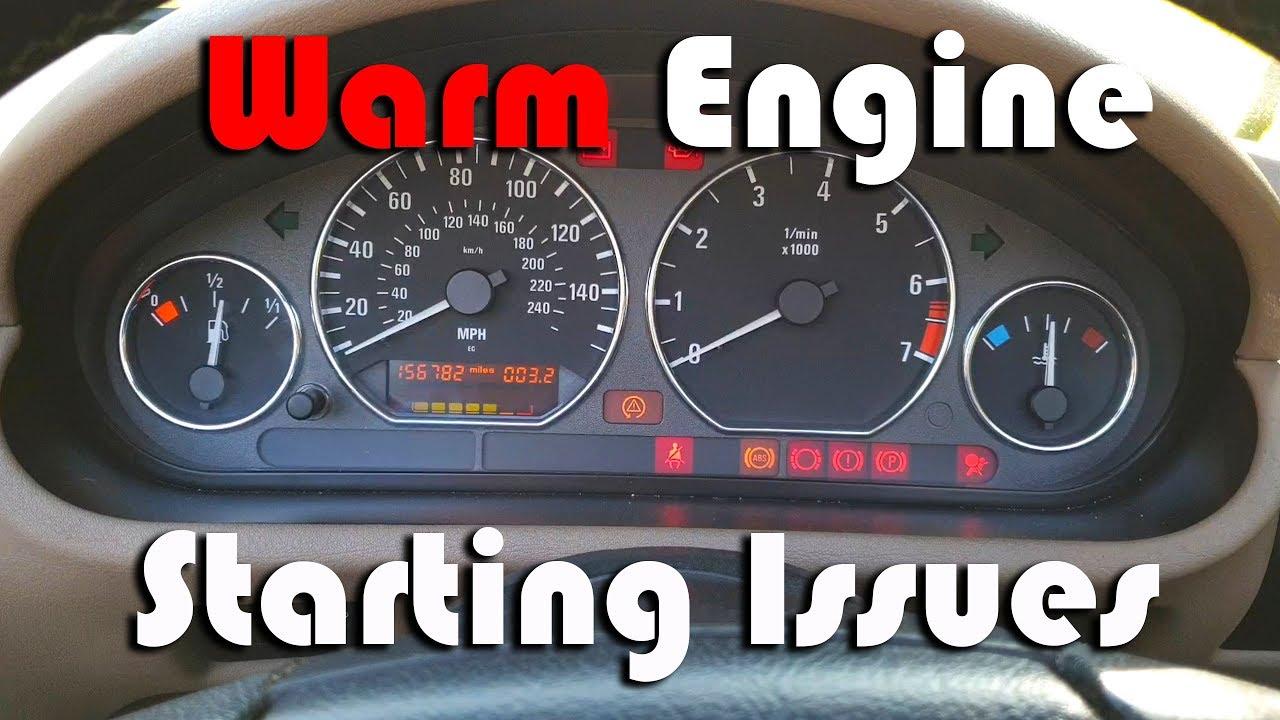 How to Solve a BMW Z3 E36 M52 Warm Engine Starting Problem
