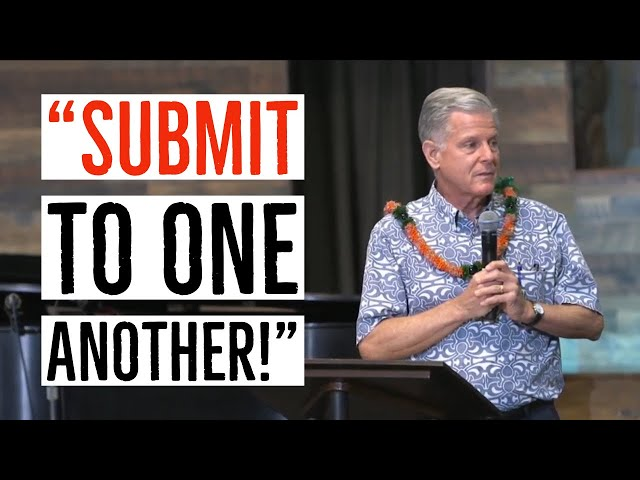 Kaimuki Christian: Pastor Jerry Hubbard Talks About the Importance of Submitting to One Another!