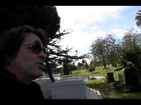 Hollywood Forever Cemetary tour