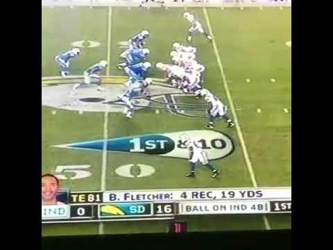 Peyton Manning Back Flip