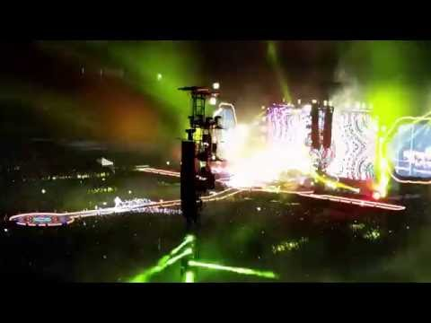 Coldplay - Hymn For The Weekend, Etihad Stadium, Melbourne 9th December 2016