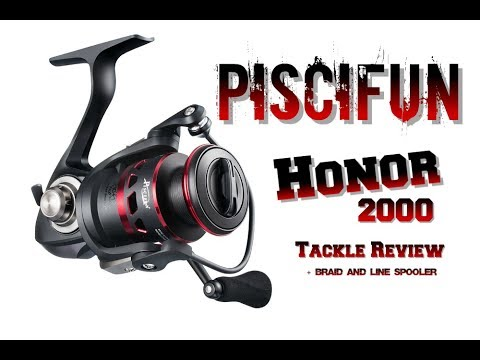 Tackle Review: Piscifun Honor 2000, Line Spooler, and Braid !!