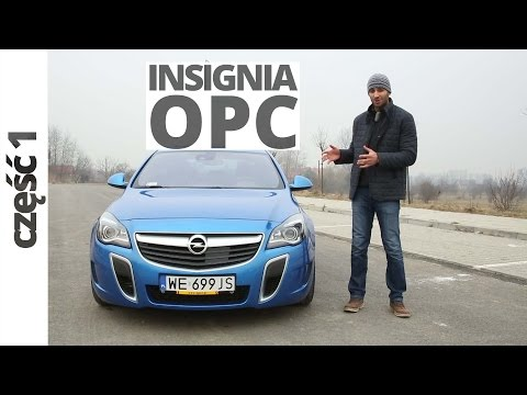 Opel Insignia OPC 2.8 V6 Turbo ECOTEC 325 KM, 2015 [PL/ENG]