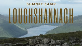 Loughshannagh Summit Camp, The Mournes ; May 2017