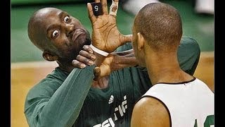 Kevin Garnett Bloopers and funny interviews