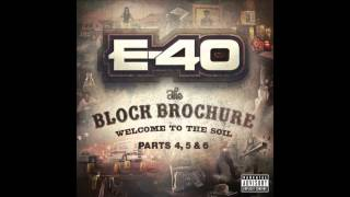 "E 40 ""Money On My Mind"" Feat  Bosko"