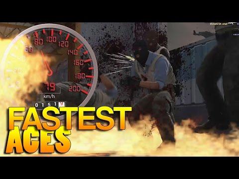 CS:GO - FASTEST Aces! #24