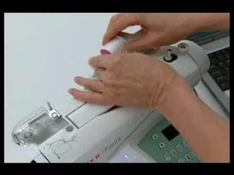 SINGER FUTURA™ Threading The Machine Tutorial YouTube Unique How To Thread A Singer Futura Sewing Machine