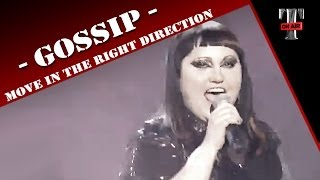 Gossip - Move In The Right Direction (Live TV TARATATA Oct. 2012)