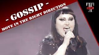Gossip - Move In The Right Direction (Live TV TARATATA Oct. 2012)